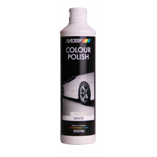 motip colour polish white 500ml. Black Bedroom Furniture Sets. Home Design Ideas