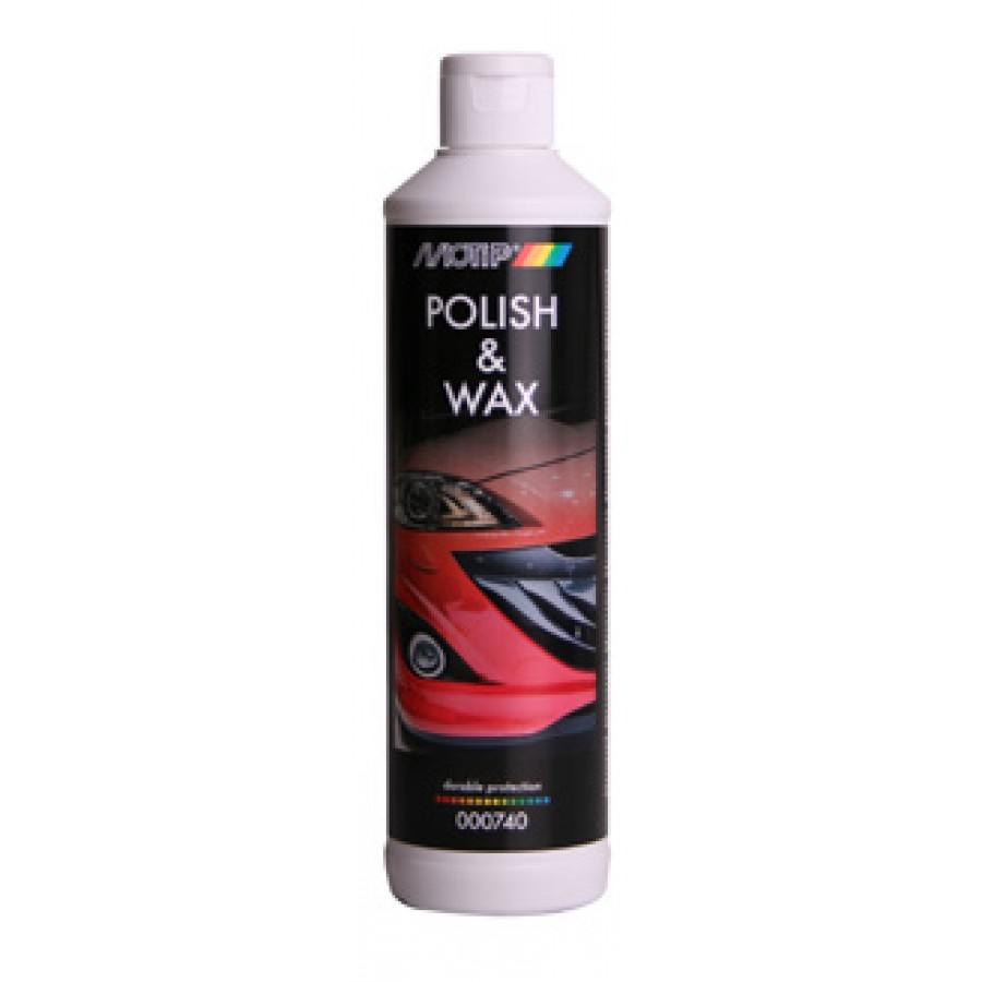 MOTIP POLISH & WAX 500ML