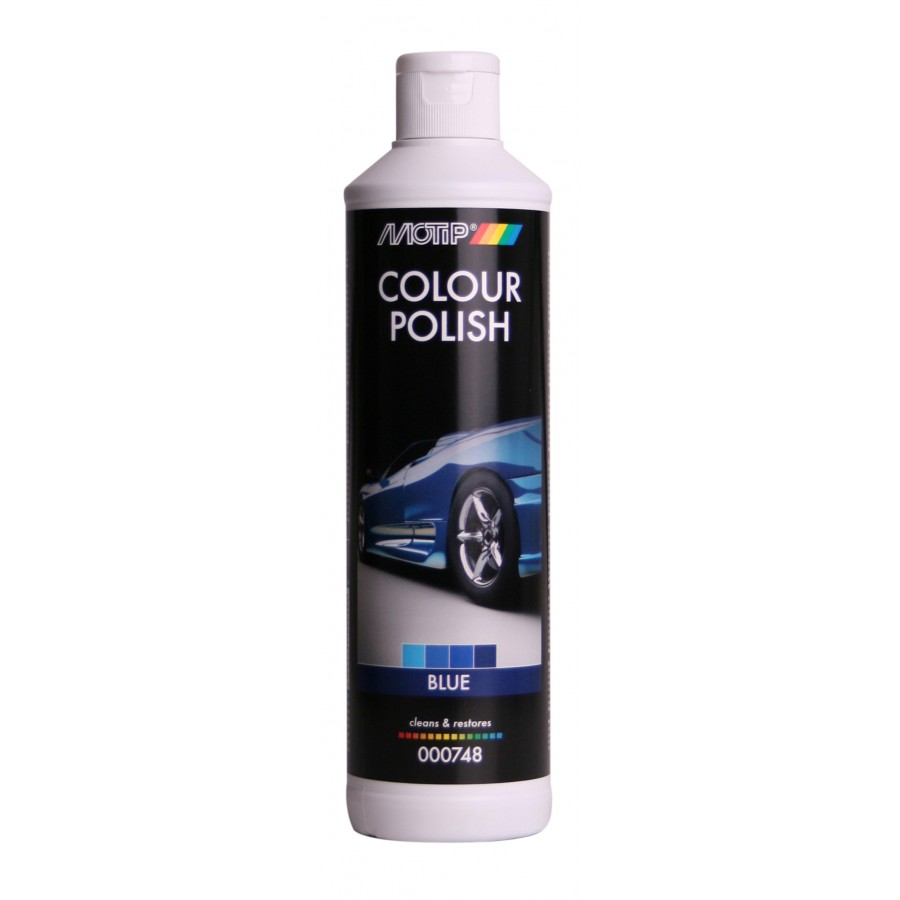 MOTIP COLOUR POLISH BLUE 500ML