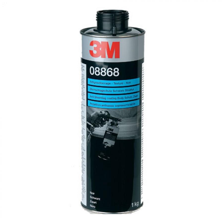 Anti steenslag coating / bescherming 3M 1 kilo Grijs Middel/Grove structuur 08879