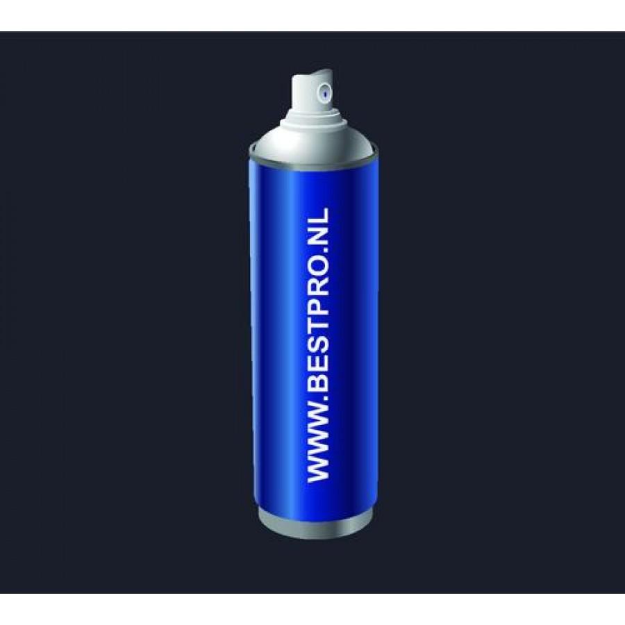 Dupli-Color spuitbus RAL5004 Blauwzwart Hoogglans