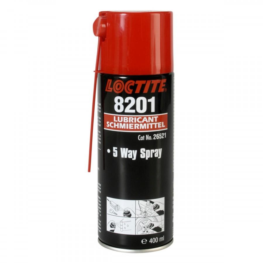 Loctite kruipolie / 5-way spray 400ml 8201