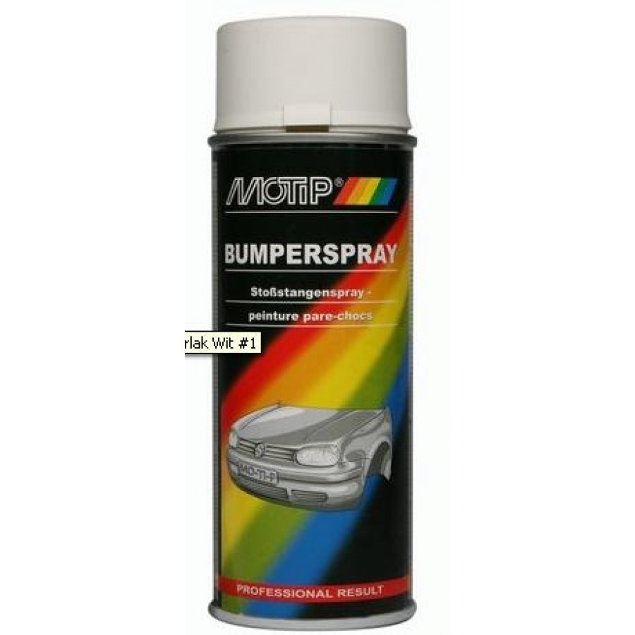 Bumperlak Motip Wit 400 ml spuitbus