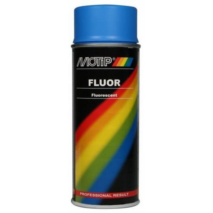 Spuitbus Fluorescerende lak Blauw 400ml