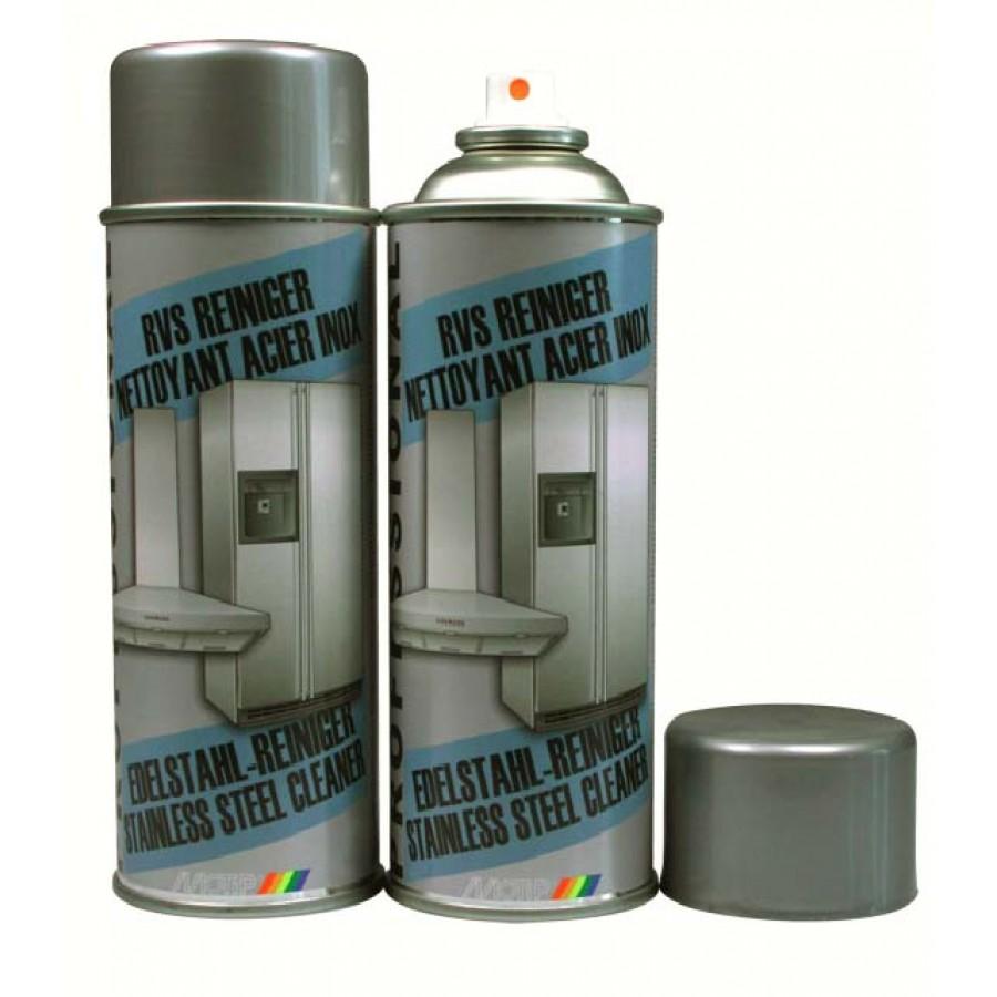 Motip Rvs reiniger  400 ml