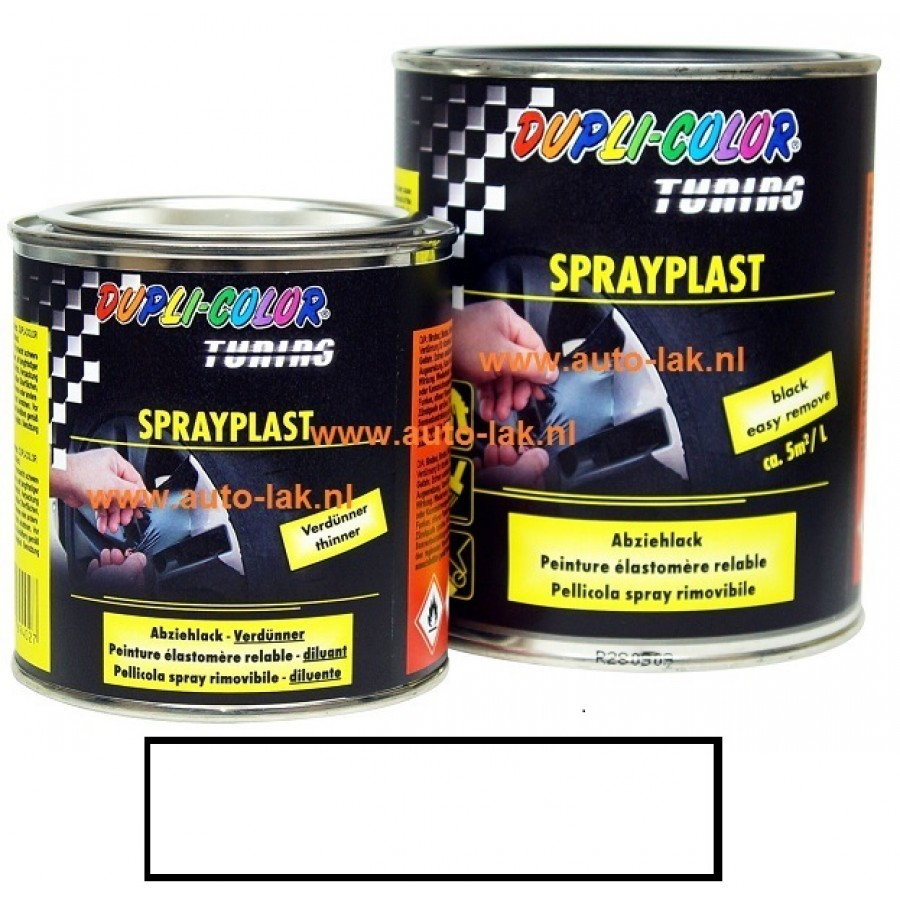 Dupli Color Sprayplast Wit Glans