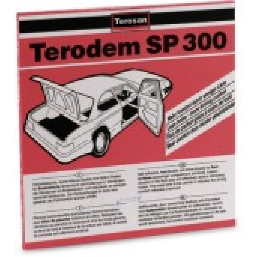 Terodem sp300 anti-dreunplaten 4 stuks 50x50