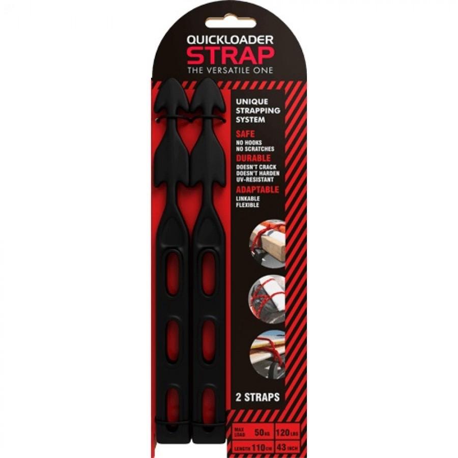 QUICKLOADER STRAP QS110 Elastische Snelbinders breekpunt25kg 2 stuks