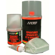 Motip Polyester Reparatie Set 250 gram