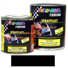 Dupli Color Sprayplast Zwart Glans