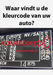 Kleurcode Auto